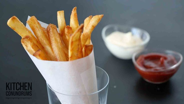 The Trick to Making French Fries - Kitchen Conundrums