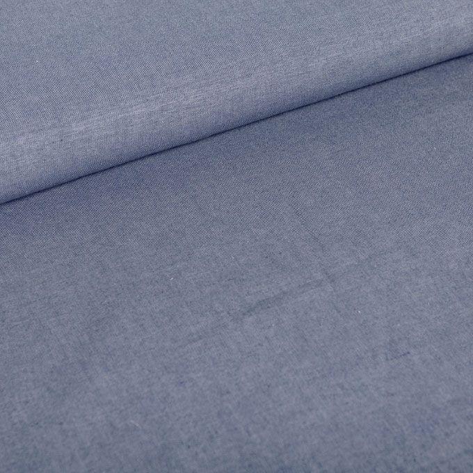 100% bio katoen - 160cm breed - 130gr/m² Deze stof is geweven in keperbinding waardoor je een prachtige jeanslook krijgt. Typisch voor chambray is dat men een lichter gekleurde kettingdraad gebruikt, wat de stof aan de achterzijde een ander effect geeft. Kies zelf welke kant je gebruikt, combineer en speel met beidde kanten voor leuke accenten in kledij en interieur accessoires.De stof heeft een medium weight en is daardoor ideaal voor al jouw zomerprojecten. Denk bloezen, hemden, ...