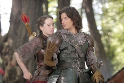 Ben Barnes and Anna Popplewell as Prince Caspian and Susan Pevensie - The Chronicles of Narnia Prince Caspian