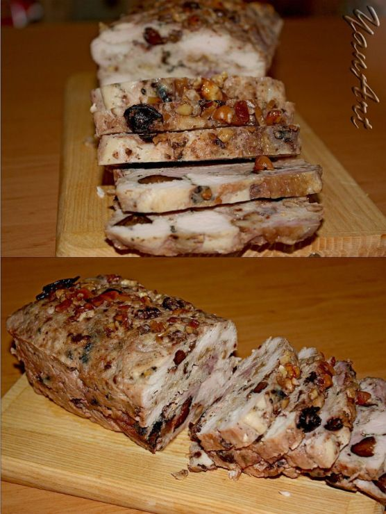 Gallery.ru / Террин куриный с черносливом и базиликом - Моя кухня/My kitchen - YanArt