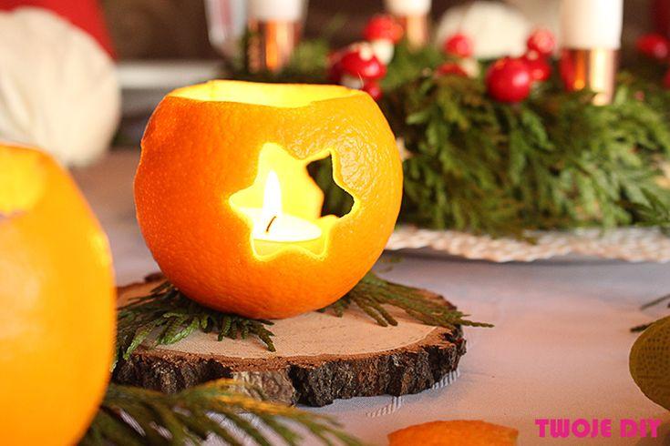 Macie już pomysł na dekorację stołu na wigilijną wieczerzę? Jeżeli nie, to przychodzę do Was z pomysłami na dekorację stołu last minute. DIY, które można wykonać kilka minut przed samą kolacją, albo zlecić je dzieciom do wykonania, aby samemu dokończyć mieszanie w garnkach. Będą lampiony z pomarańczy, dekoracja kieliszka, wizytówka na stół, kieszonka na sztućce [...]