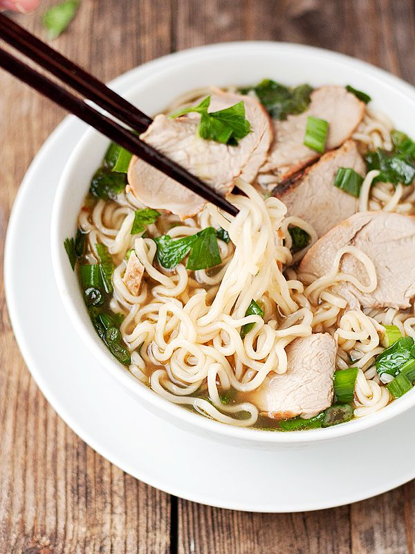 Ramen Noodle Soup with Asian BBQ Char Siu Pork | Seasons and Suppers