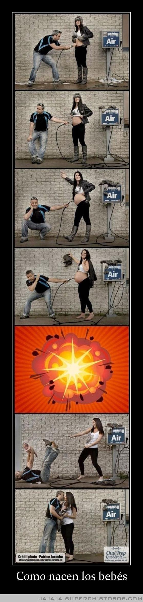 Como nacen los bebés