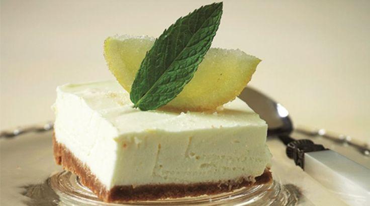 Δροσερό γλυκό με άρωμα λεμονιού