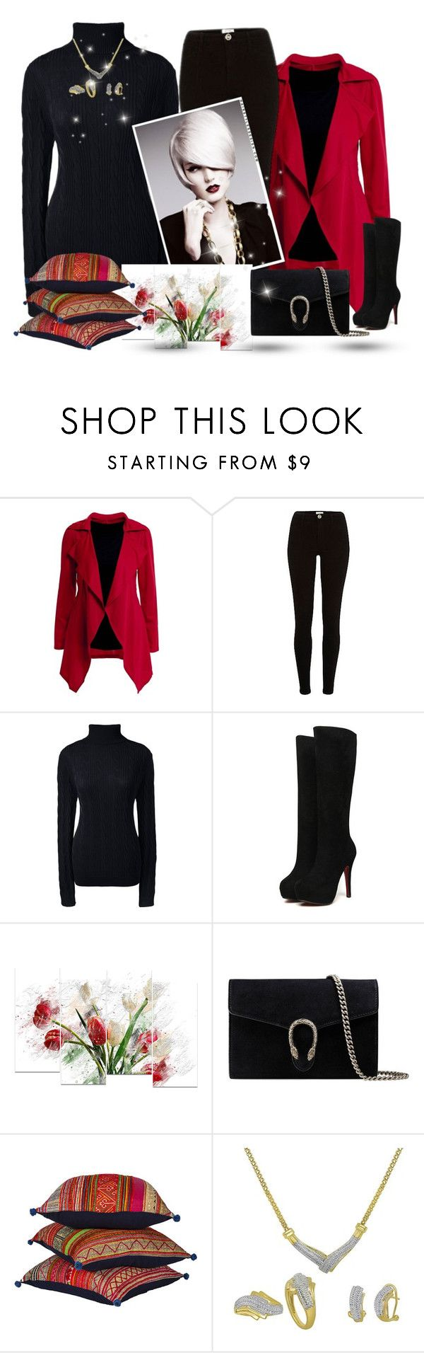 """Mango's collection"" by mango27 ❤ liked on Polyvore featuring Lands' End, Design Art, Gucci and Cultural Intrigue"