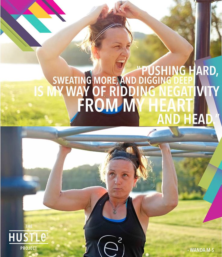 Pushing hard, sweating more, and digging deep is my way of ridding negativity from my heart and head.