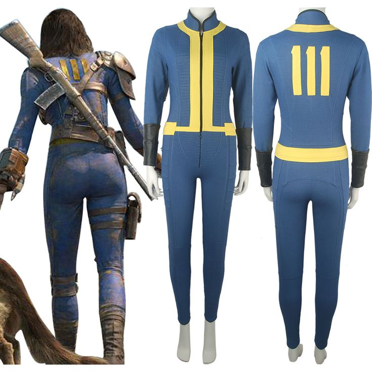Video Game Fallout 4 Sole Survivor Nora Outfit Jumpsuit Halloween Comic-con Anime Cosplay Costume