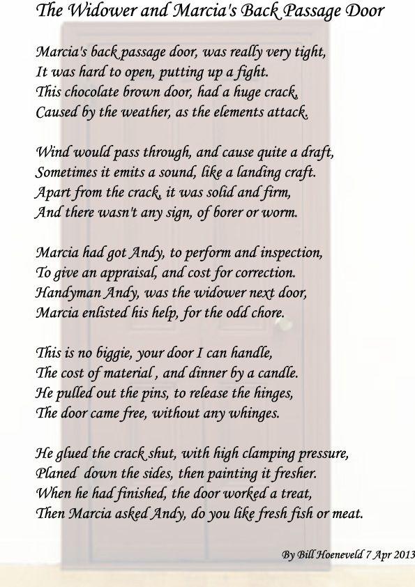 Best BillS Poems  MarciaS Renovations Images On