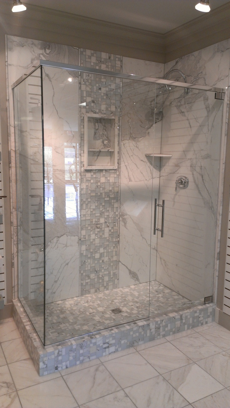 Shower drain replacement as well rebath northeast weekly digest - Beatiful Natural Stone Shower