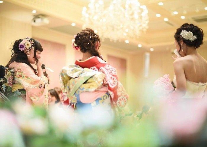 結婚式で新婦中座の時の感動エピソード・撮りたい写真まとめ