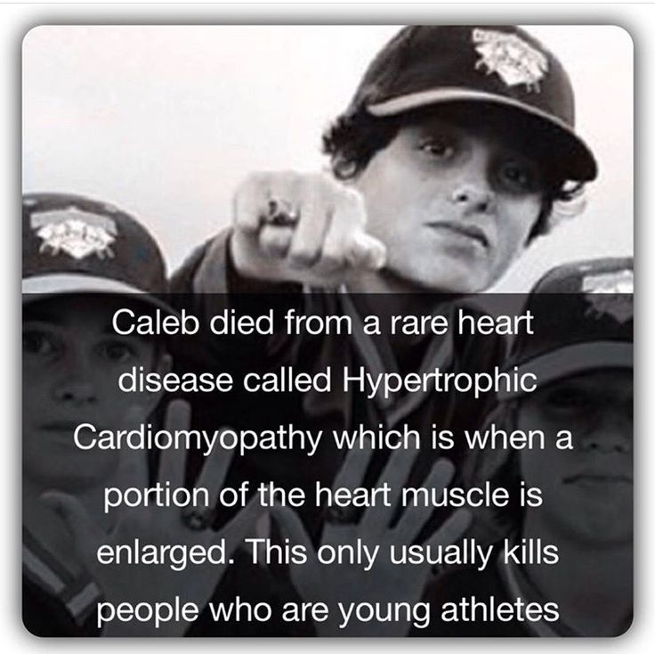 What Caleb died from he had a rare heart disease that ran in his mom's family why did it have to be a thing like cancer missing you baked potato