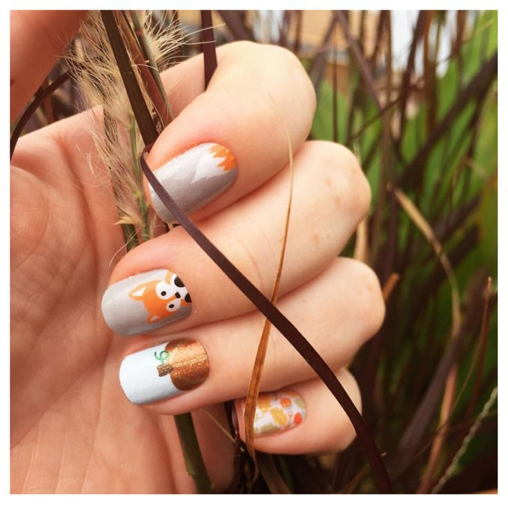 106 best Fall & Thanksgiving | Nail Wraps images on Pinterest ...