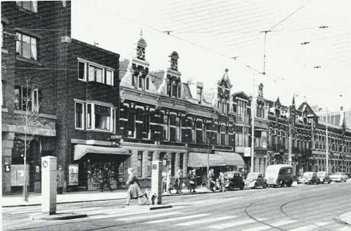 Rotterdam - Bergweg, 1954