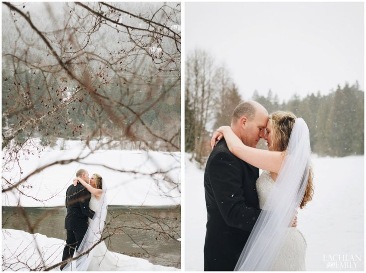 Winter Wedding Photography in Whistler at Nita Lake | Lachlan and Emily Photography