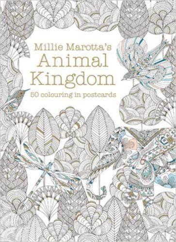Millie Marotta Animal Kingdom Postcard Box Amazonde Millie Marotta Fremdsprachige Bcher