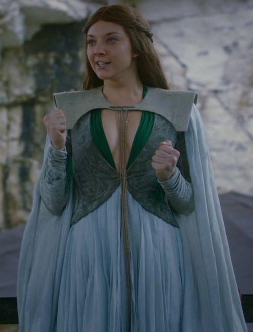Natalie Dormer as Margaery Tyrell inGame of Thrones
