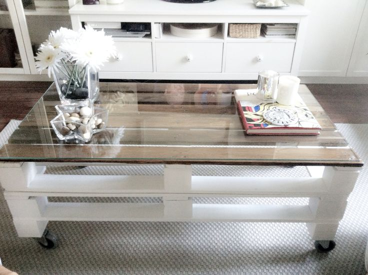 (DIY) Pallet table - http://dunway.info/pallets/index.html