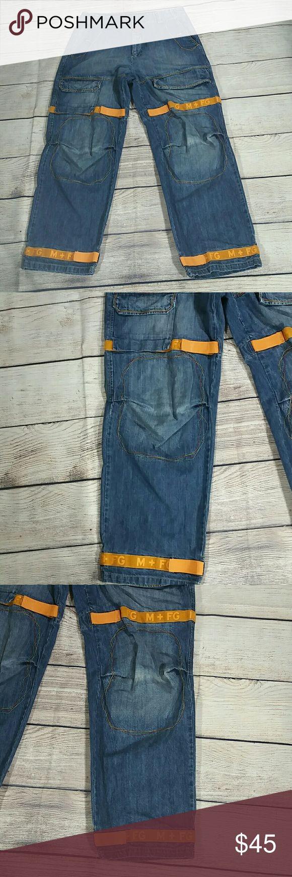 Vintage MFG Marithe Francois Girbaud Cargo jeans 123 Marithe Francois Girbaud Jeans