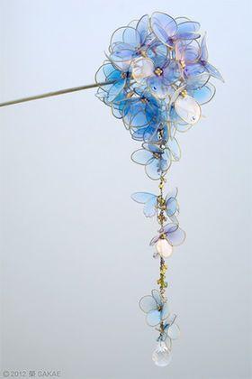 透明感溢れる和の花々・榮 -sakae- のかんざしが美しい - NAVER まとめ