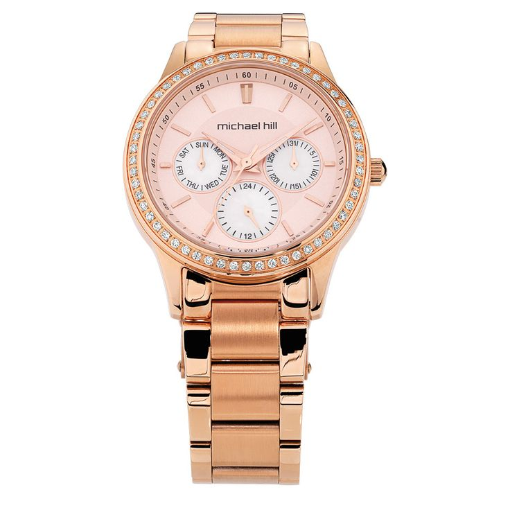Rose Gold watch with CZ detailing from Michael Hill (this is the jeweler where I got my snowflake from)