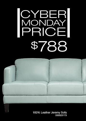 ... CYBER MONDAY SALE! The Jeremy Sofa, Fashionably Tailored With Sleek  Lines Without Sacrificing Comfort. Upholstered In A