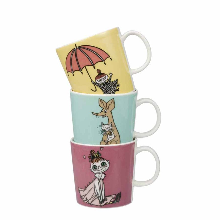 Moomin mugs by Arabia Finland