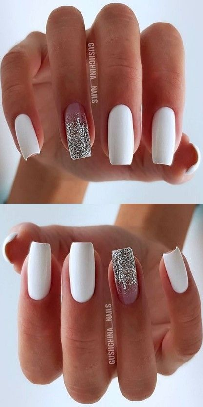 ??? 10 Natural Summer pink Nails Design Fоr Short Square #Nails ???