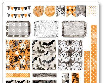 Decoración de Halloween brillante Kit / extensión por PlannerPenny