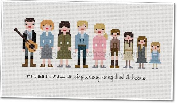 Sound of music Tapestry. :-)
