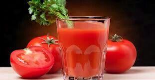 Jugo de tomate.