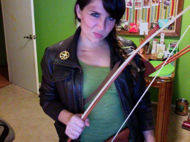 katniss everdeen costume halloween 2011