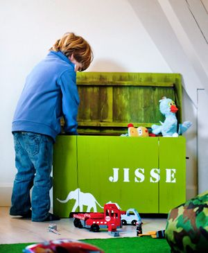 #DIY Box for toys - #101woonideeen.nl - Dutch interior and crafts magazine