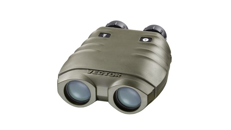 "Vectronix VECTOR 23 Binoculars - VECTOR 23 encompasses the latest and greatest in binocular laser rangefinding technology. The innovative ""fiber laser"" is class 1 eye-safe, and allows for observation and long distance target acquisition at distances up to an astonishing 25 km. 