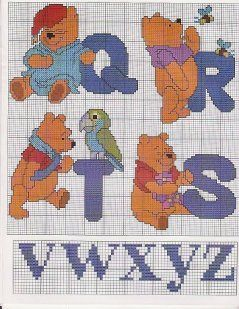 Winnie the Pooh alphabet 5 of 8