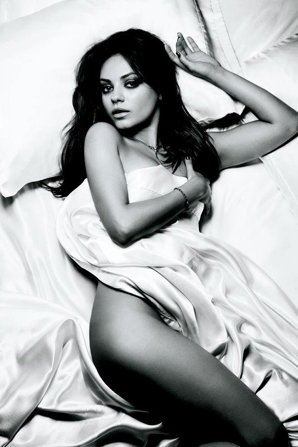 Mila Kunis..our mutual crush. Lol