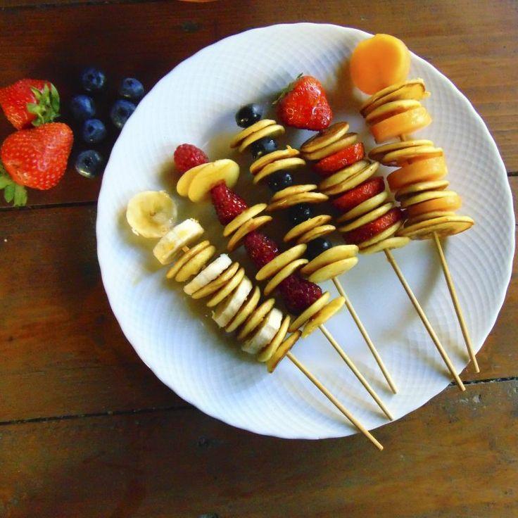 pancake, mini pancake, fruit pancake, snacks, sticks, healthy sticks, vegan