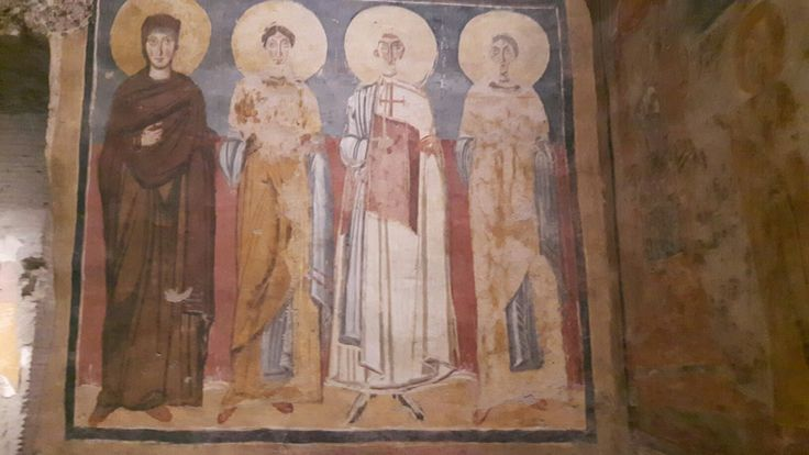 Santa Maria Antiqua. Cappella del Primicerius Theodotos.