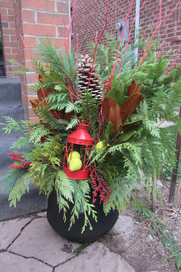 Christmas Planter created by user