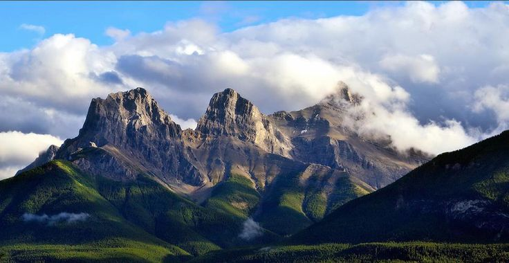 The Three Sisters, Canmore Alberta
