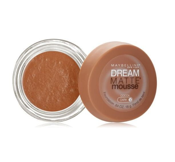 Maybelline Dream Matte Mousse Foundation Cocoa Dark [3] 0.64 oz