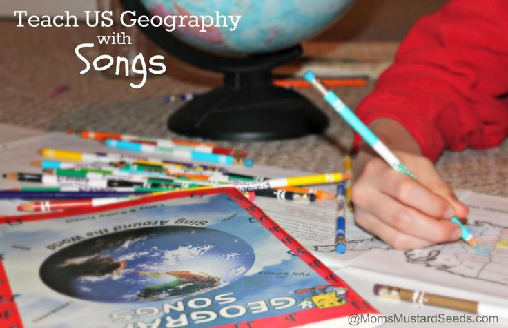 Teach US Geography with Songs