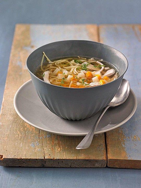 Erkältungssüppchen vom Huhn mit Suppengemüse