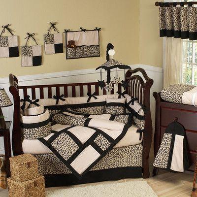 Animal Safari 9 Piece Crib Bedding Set
