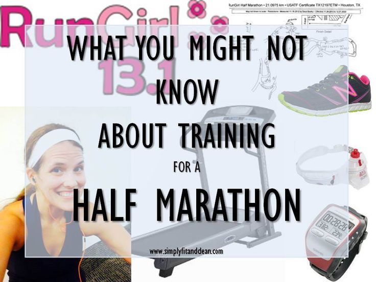 half marathon training tips simplyfitandclean