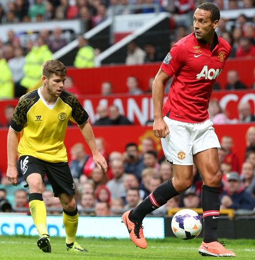 [Rio Ferdinand Testimonial] Manchester United 1-3 Sevilla   Ryan Giggs   Manchester United  Wales   RyanGiggs.cc   V3.0