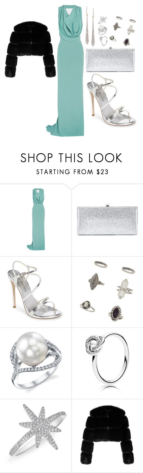 Clean by amystyles-i on Polyvore featuring mode, Maria Grachvogel, Givenchy, Stuart Weitzman, Jimmy Choo, Miss Selfridge, Ross-Simons, Anne Sisteron and Pandora