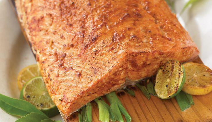 Planked Alaska Salmon with Asian Glaze | Wild Alaska Seafood http://www.wildalaskaseafood.com/recipes/planked-alaska-salmon-with-asian-glaze/