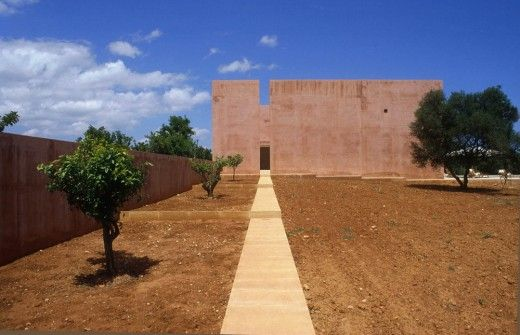 Neuendorf House in Majorca by John Pawson and Claudio Silvestrin