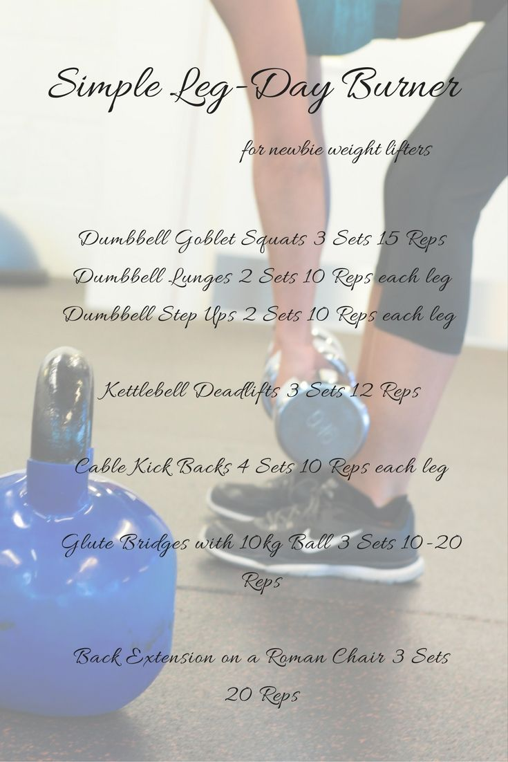 Simple Leg-Day Burner for Newbie Weight Lifters: Fit Bride Bootcamp Month 2