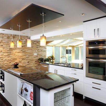 68 best images about drops ceilings on pinterest for Dropped ceiling kitchen ideas